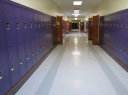 School Corridor Lockers New York